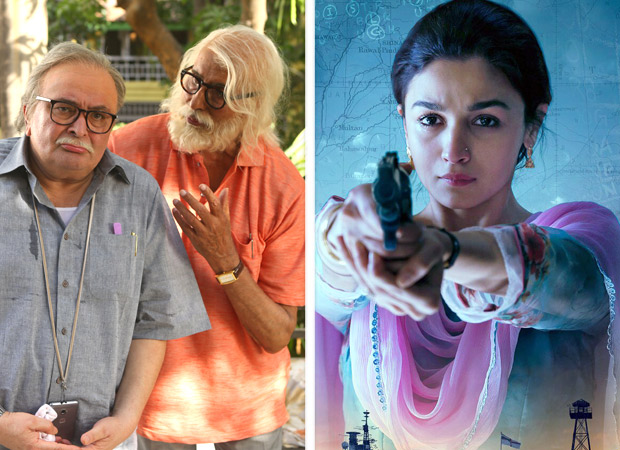 Dull weekend in overseas; all eyes on 102 Not Out and Raazi