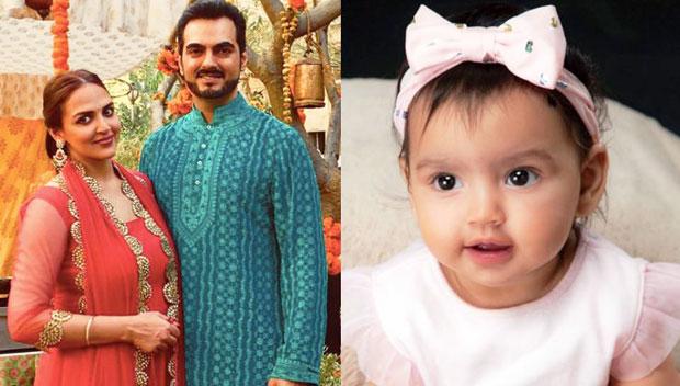 Esha Deol shares FIRST image of her adorable baby girl Radhya