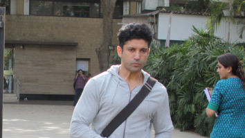 Farhan Akhtar spotted at Otters Club