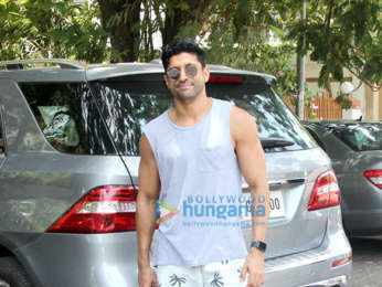 Farhan Akhtar spotted at Otters Club in Bandra