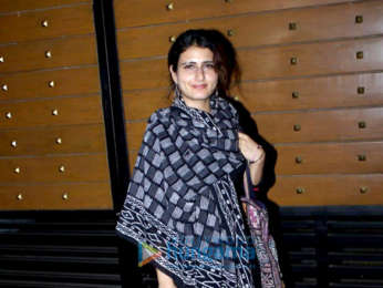 Fatima Sana Shaikh attends the screening of Colours of Life at YRF