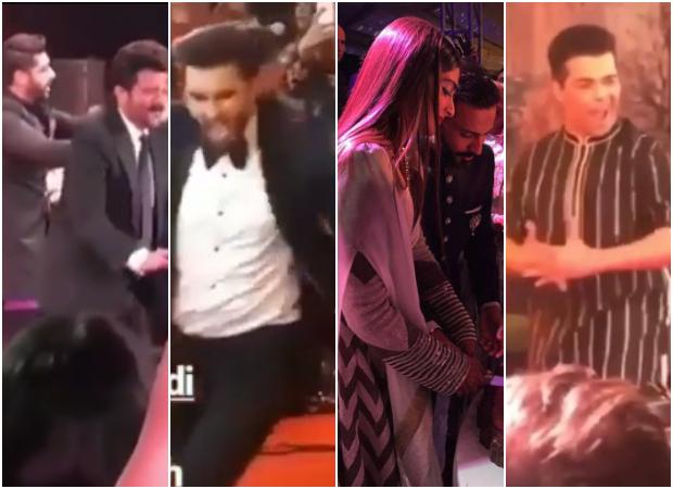 Sonam Kapoor - Anand Ahuja reception INSIDE videos: Anil Kapoor, Arjun Kapoor, Karan Johar, Ranveer Singh KICKSTART dance party