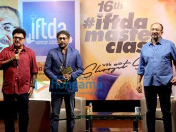 Gauahar Khan graces the IPTA meet with Shoojit Sircar