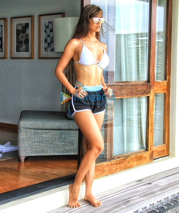 HOTNESS: Disha Patani sets the temperature soaring with her bikini pictures