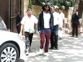 Harshvardhan Kapoor and Rhea Kapoor snapped in Mumbai