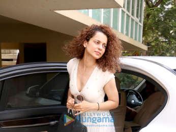 Kangana Ranaut snapped at Komal Jain's office in Juhu