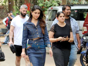 Kareena Kapoor Khan & Saif Ali Khan snapped at Mehboob studio in Bandra