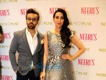 Karishma Kapoor graces the Neeru's store launch in Pune