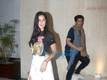 Katrina Kaif spotted at Manish Malhotra's house