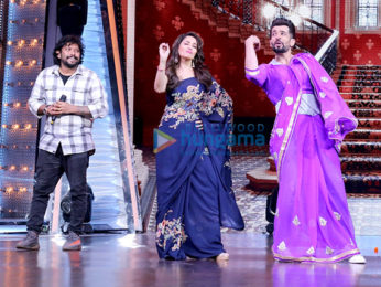Madhuri Dixit snapped promoting her film Bucket List on Did Little Master