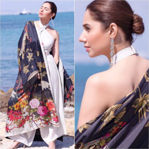 Mahira Khan in Élan at Cannes 2018
