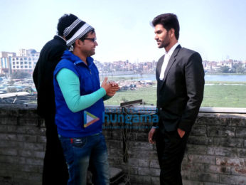 On The Sets Of The Movie Mridang