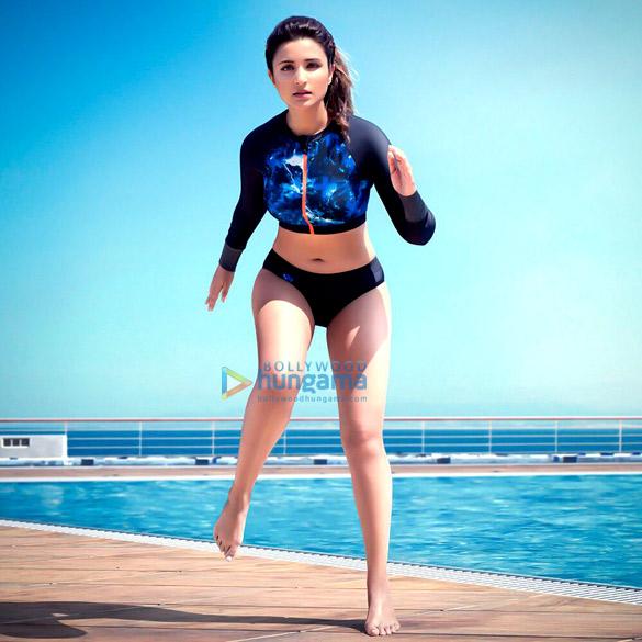 Hot Parineeti Chopra Endorses Speedo Swimwear