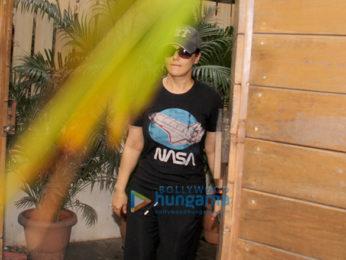 Preity Zinta snapped in Bandra