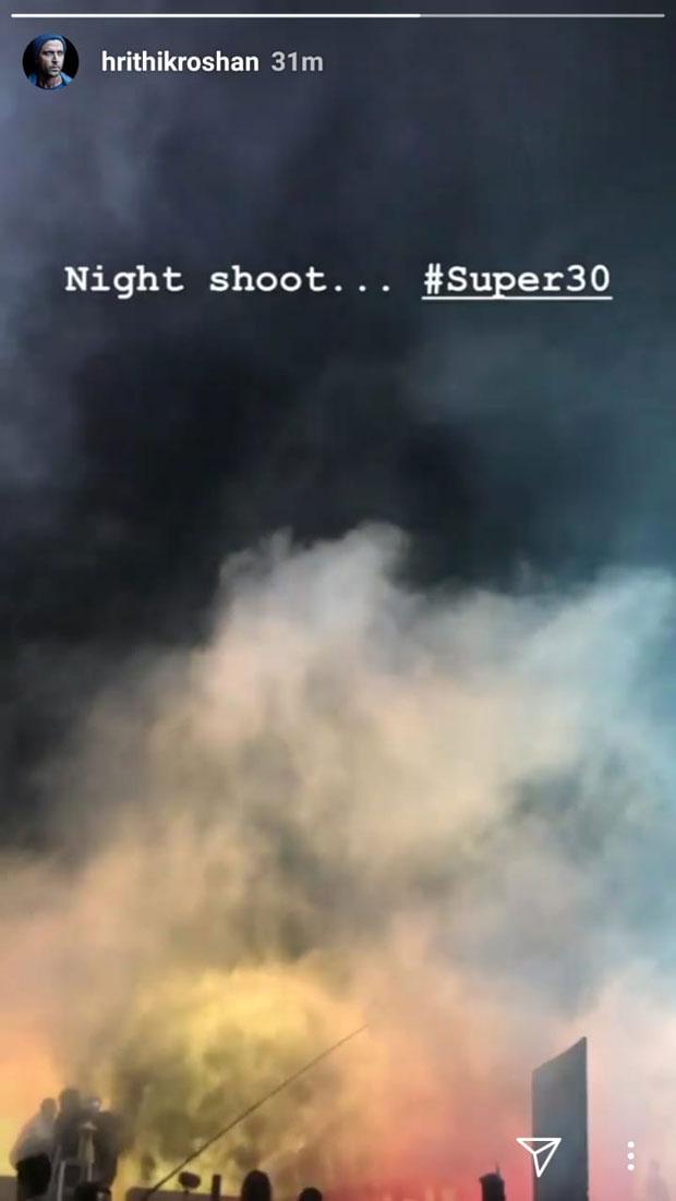 REVEALED Hrithik Roshan has shot the climax scene for Super 30 in Mumbai