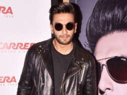 Ranveer Singh @Exclusive Premiere of the Lifestyle Brand 'Carrera'