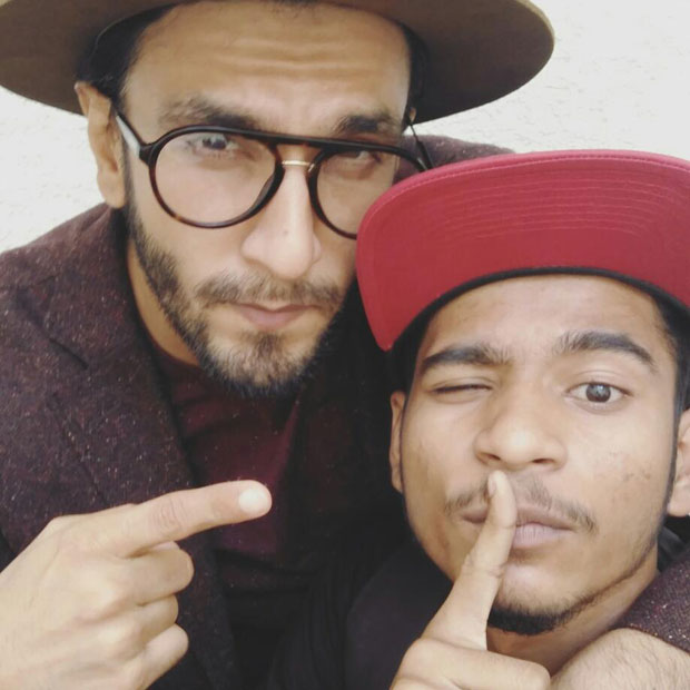 Ranveer Singh goes out of his way for a young hip-hop artist; does a cameo in music video