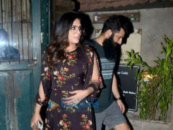 Richa Chadda snapped at Pali Cafe Bandra