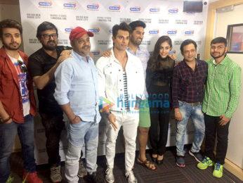 Sajid - Wajid, Karan Singh Grover, Kunaal Roy Kapur & Ankush Bhatt grace the launch of the song 'Nikamma' from the film 3 Dev