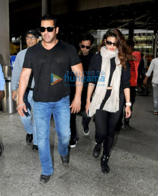 Salman Khan, Jacqueline Fernandez, Twinkle Khanna, Prachi Desai, Ayushmann Khurrana and others snapped at the airport