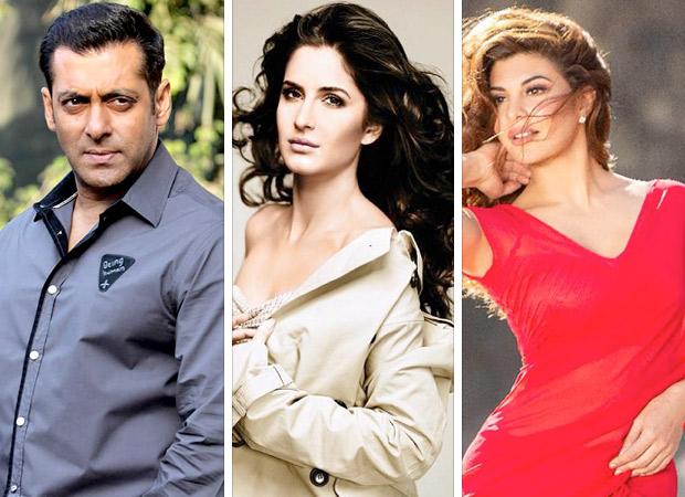 Salman Khan plays saviour to Katrina Kaif & Jacqueline Fernandez