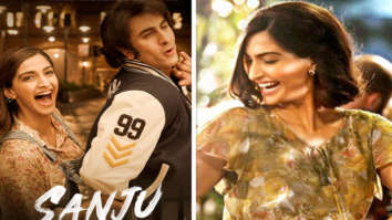 Sanju new poster Sonam Kapoor gives us serious Neerja feels as she brings back the 80s as Ranbir Kapoor's girlfriend