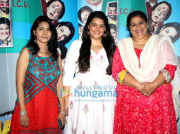 Seema Pahwa, Sanah Kapoor and Suneeta Sen Gupta promoting upcoming movie 'Khajoor Pe Atke'