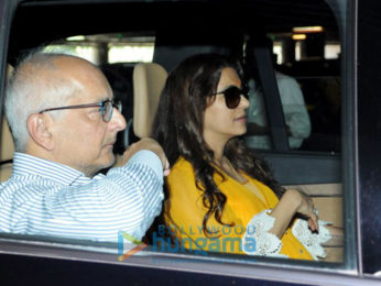 Shama Sikander, Nushrat Bharucha and Juhi Chawla snapped at the airport