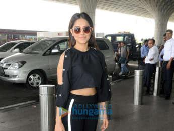 Shama Sikander and Nushrat Bharucha snapped at the airport