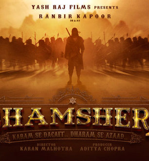 First Look Of The Movie Shamshera