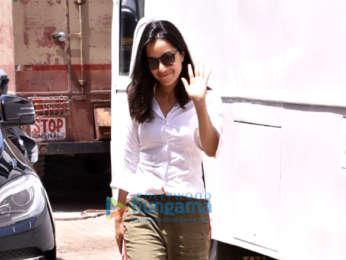 Shraddha Kapoor snapped at Filmcity