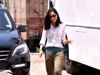 Shraddha Kapoor snapped at Filmcity