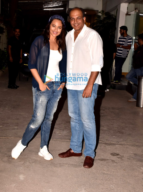 Sonakshi Sinha graces the screening of a Marathi film