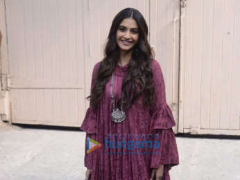 Sonam Kapoor and Shikha Talsania snapped promoting their film Veere Di Wedding