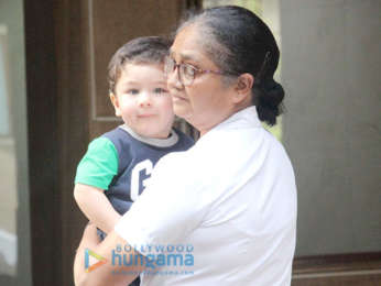 Taimur Ali Khan and Inaaya Naumi Kemmu spotted in Bandra