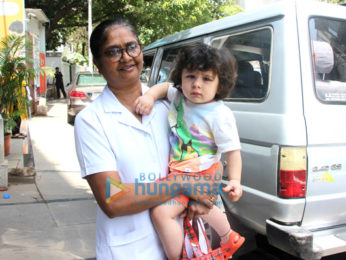 Taimur Ali Khan snapped at his play school