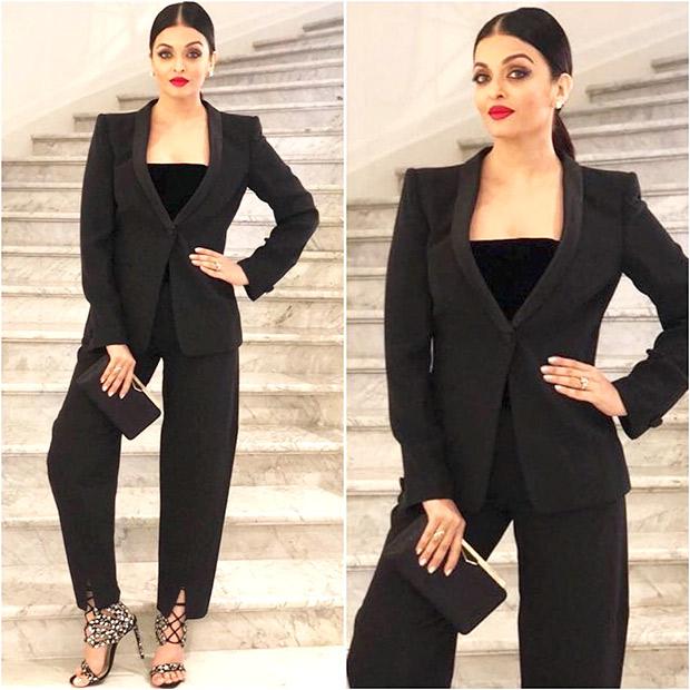 The badass pantsuit - Aishwarya Rai Bachchan
