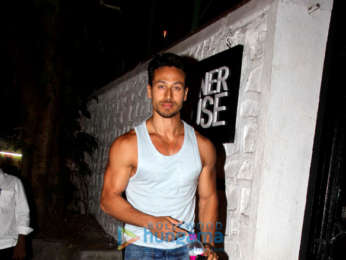 Tiger Shroff spotted at Korner House, Bandra