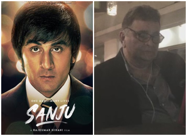 WATCH: Rishi Kapoor and Neetu Kapoor get emotional after watching Ranbir Kapoor's Sanju trailer