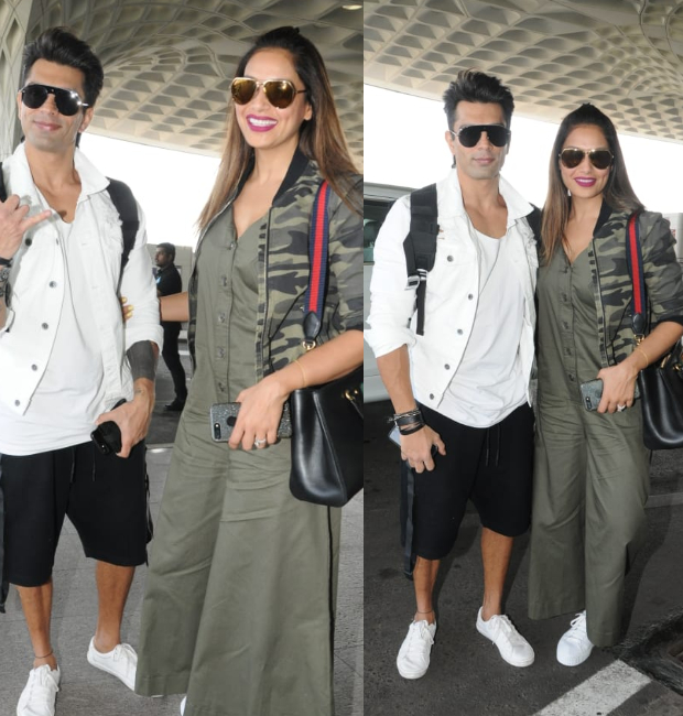 Weekly Celebrity Airport Style - Bipasha Basu and Karan Singh Grover