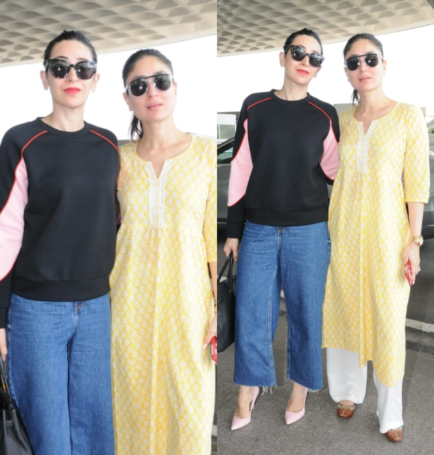 Weekly Celebrity Airport Style - Kareena Kapoor Khan and Karisma Kapoor
