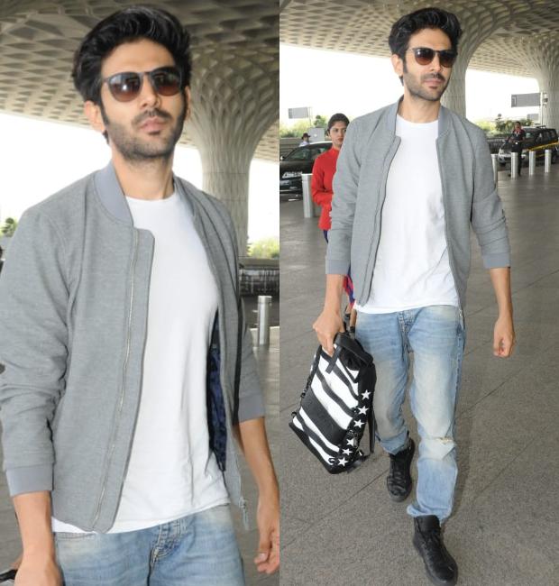 Weekly Celebrity Airport Style - Kartik Aaryan