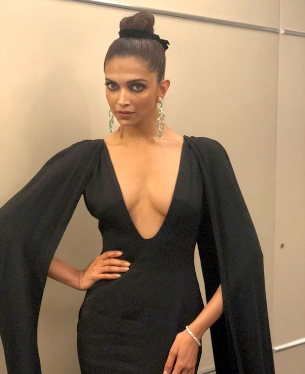 Deepika Padukone flaunts minimal makeup with intense eyes for Chopard party at Cannes 2018