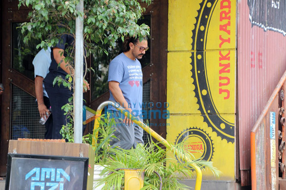 Aamir Khan spotted at a spa (4)