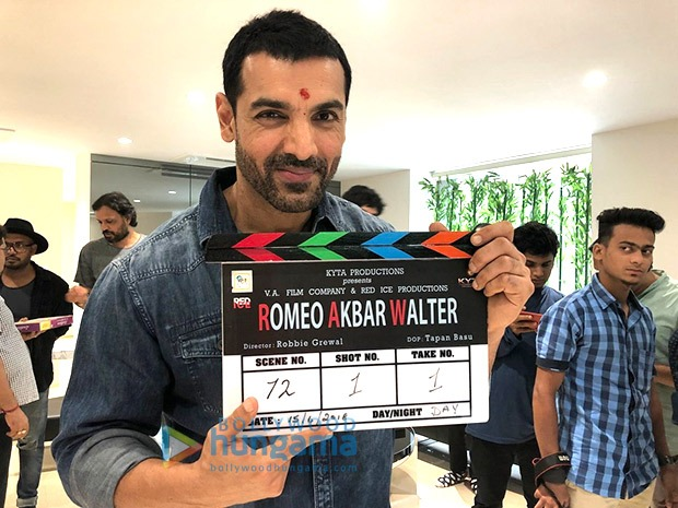 After Parmanu – The Story Of Pokhran, John Abraham starts shooting for Romeo Akbar Walter