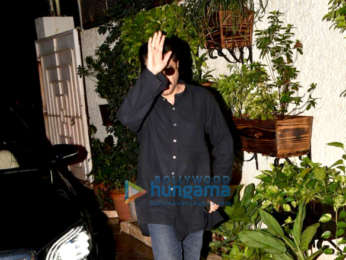 Akshay Kumar and Anil Kapoor spotted at Sunny Super Sound in Juhu