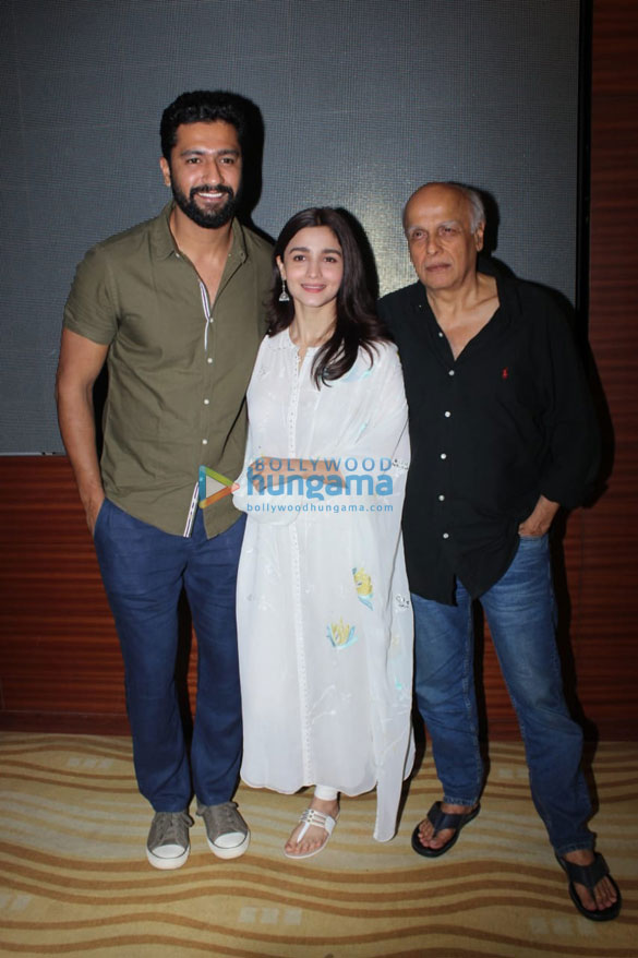 Alia Bhatt, Vicky Kaushal, Mahesh Bhatt snapped at a special screening of Raazi for NGO kids