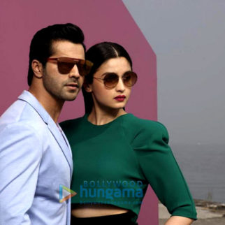 Celeb Photos Of Alia Bhatt, Varun Dhawan