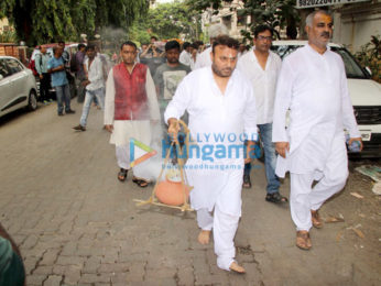 Anil Sharma's mother's funeral
