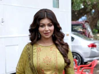 Ayesha Takia Azmi snapped on location for a photoshoot at Aarey Colony